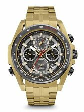 Bulova Precisionist Ultrahigh Frequency Stainless Steel Mens Watch 98B271
