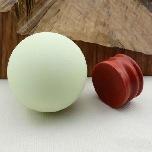 35mm Glow In The Dark Stone Green Luminous Quartz Crystal Sphere Ball Stand Neue