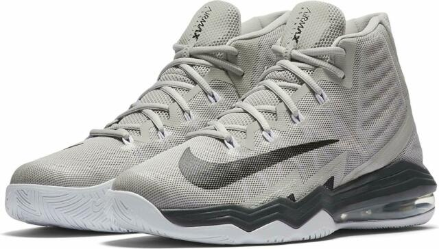 Nike Air Max Audacity 2016 Anthony Davis Silver White Mens Basketball 843884 004 11.5