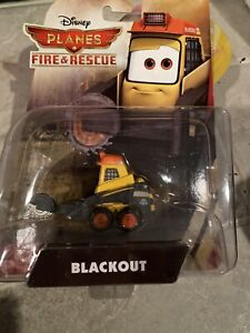 BLACKOUT new DISNEY planes FIRE and RESCUE die-cast VEHICLE toy PIXAR cars