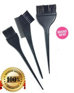 Black Hair Tinting Application Hair Dye Bleach Hairdressing Barber Brush Colour