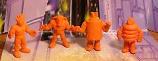 M.U.S.C.L.E. Figure Lot Kenkeshi Soft Rubber Figures -Group 16-  Muscles