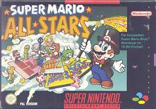 Super Nintendo SNES NES - SUPER MARIO ALL STARS - TOP !!!