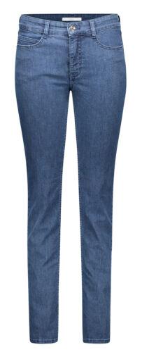 MAC Angela Mid Blue Basic Wash Femmes Jean Stretch 5240-87-0380l d690