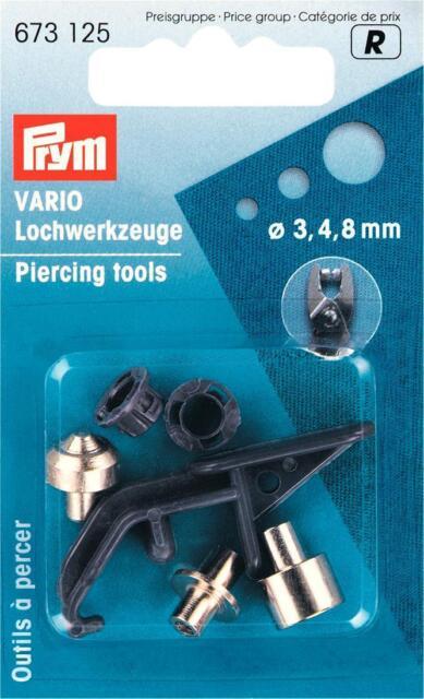 Ersatzteile für Vario Zange Druckknopfzange 3,4,8 mm
