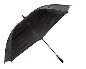 "NEW Golf Craft 68"" Windbuster Umbrella - Black - Drummond Golf"