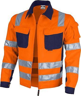 Warnschutz-Bundjacke Arbeiterjacke Arbeitsjacke QUALITEX pro MG 245 g/m²
