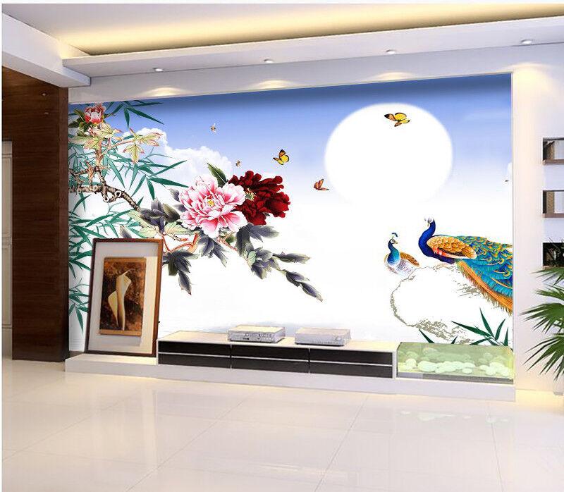 3D Scenery Flower 87 Wallpaper Mural Wall Print Wall Wallpaper Murals US Carly