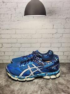 Asics-Mens-Blue-Gel-Cumulus-16-T4M0N-Running-Shoes-Size-9-5