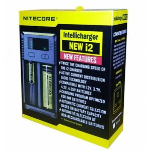 Nitecore-I2-Intelligent-18650-26650-AA-AAA-Battery-Charger-AUTHENTIC
