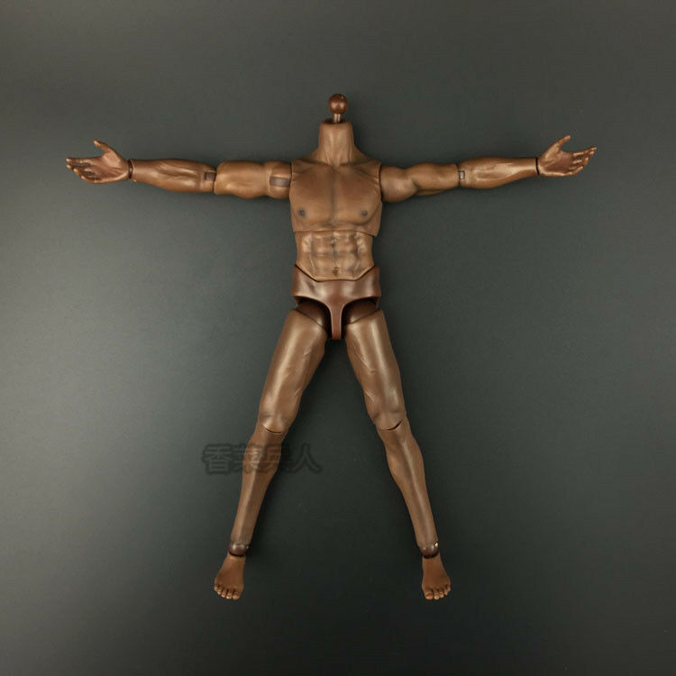 KODOXO 1 6th Male Strong Action Action Action Figure Body W Brown color F 12'' Figure TOy Gift 4a5709