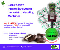 Make Money-Canada''s #1 Wrapped Candy Vending Business Medicine Hat Alberta Preview