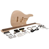 Modern Bass Style Diy Electric Bass Guitar Kit - Unfinished Luthier Project on sale
