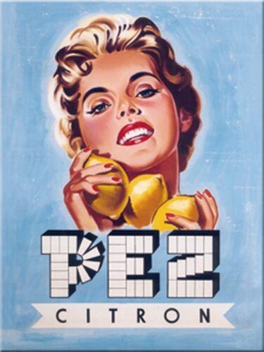 Neu Magnet 14108 Citron//Zitrone 8 X 6 cm Pez