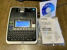 Brother P Touch Pt 2730 Label Maker Thermal Printer With Case New Open Box