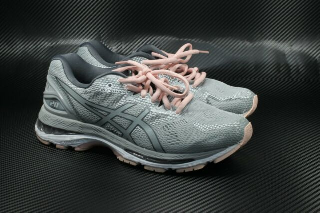 outlet store 9b2cc 001a8 Asics T851N-9696 GEL-Nimbus 20 Grey Seashell Pink Women's Running Shoes 6  Wide
