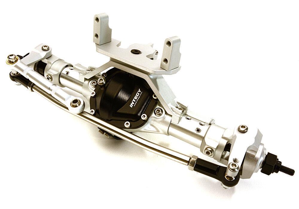 RC Bil OBM-1630HARD 4-Link F Axle w Internals for SCX-10& Egen 1.9 Crawlers