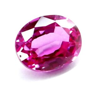 4.95 Ct Natural Pink Sapphire Oval Cut Certified Loose Gemstone Best Quality