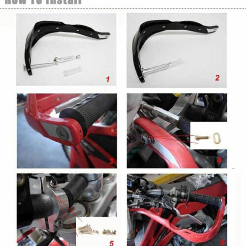Blue Motocross Handguard Motorcycle Hand guards MX ATV Dirt Bike 22mm 28mm Bar