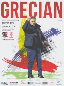 PLAY-OFF-SEMI-FINAL-EXETER-v-LINCOLN-2017-18-MINT-PROGRAMME-FREE-TEAMSHEET
