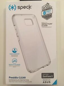 Speck-Presidio-Clear-Series-Hardshell-Case-Cover-for-ASUS-Zenfone-V-5-Clear-NEW
