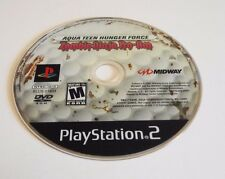Used Disc Only Aqua Teen Hunger Force Zombie Ninja Pro-Am Sony PlayStation 2