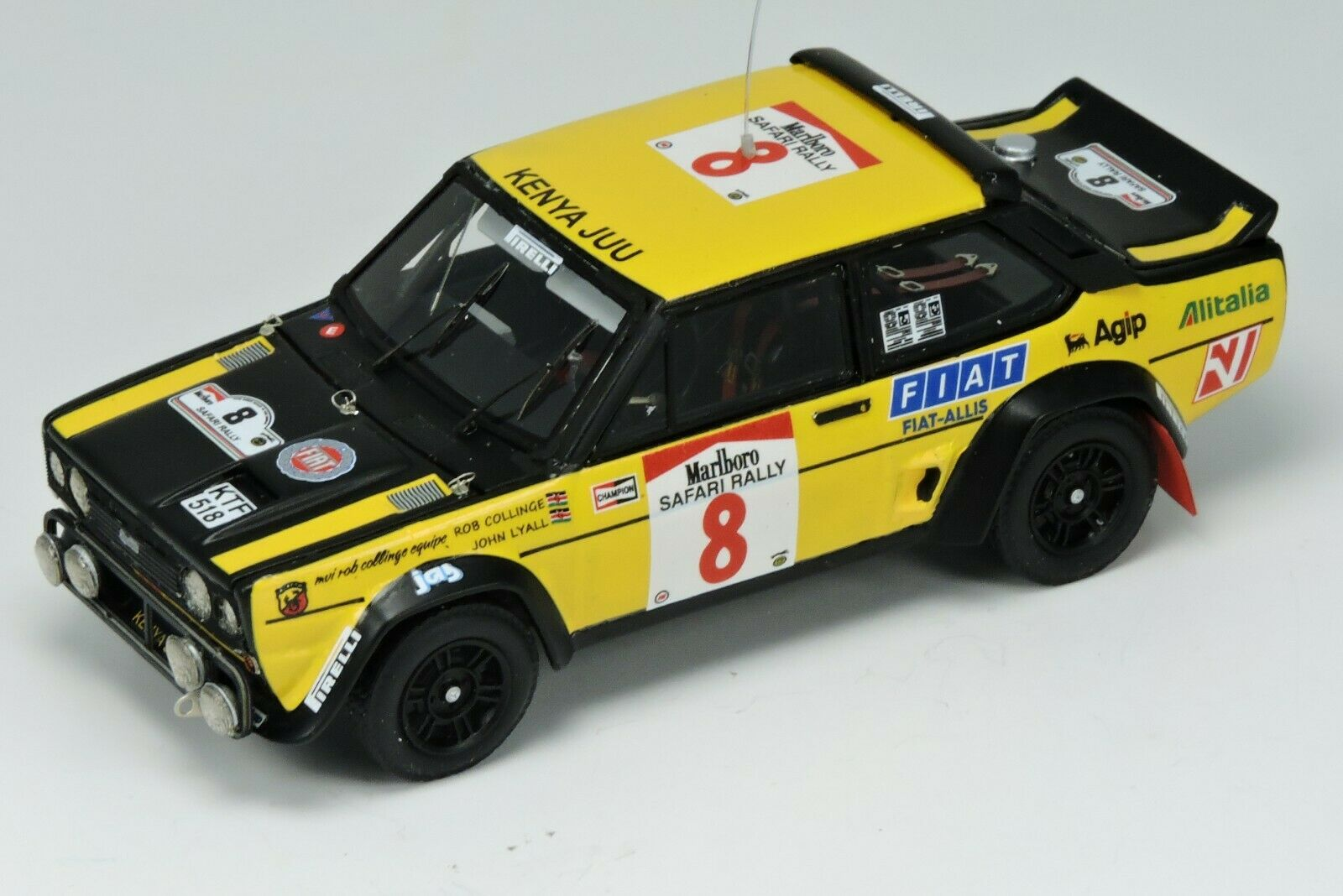Kit Fiat 131 Abarth  8 Collinge-Lyall Safari Rally 1981 - Arena Models kit 1 43