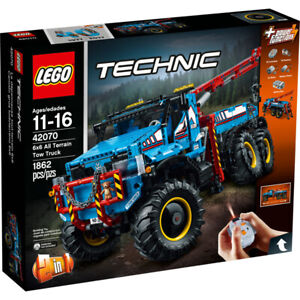 BRAND-NEW-SEALED-LEGO-TECHNIC-42070-6X6-ALL-TERRAIN-TOW-TRUCK-CRANE-RETIRED