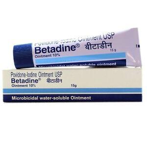 Betadine Povidone Iodine Ointment 10 Antiseptic Skin Infection