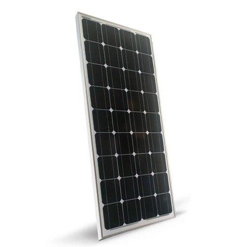 Pannello Solare 100W 12V Monocristallino Fotovoltaico Camper Casa Baita