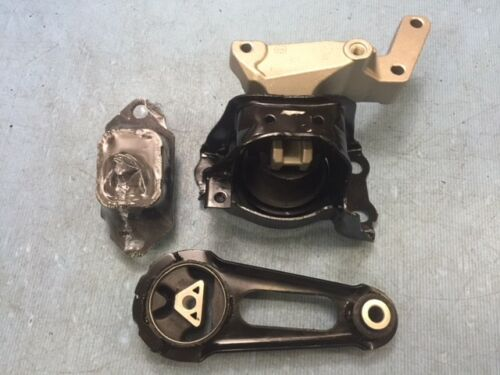 Versa Note 1.6L Hydraulic Motor /& Trans Mount Set 3PCS for 12-18 Nissan Versa
