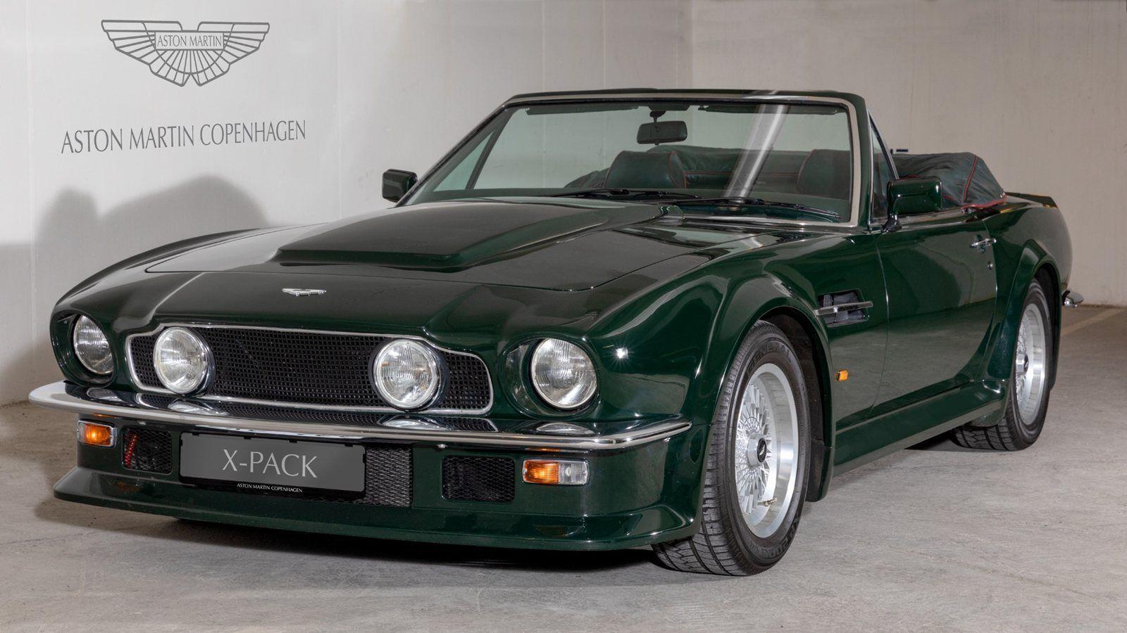 Aston Martin V8 Vantage 5,3 Volante X-Pack 2d
