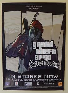 super rare original rockstar games 2004 grand theft auto gta san