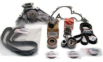NO DRIVE OR TIMING BELT Water Pump Kit V8 4.7 Genuine /& OE Manufacture Parts
