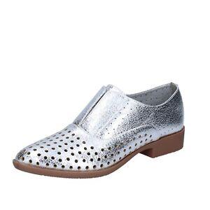Caricamento dell immagine in corso scarpe-donna -FRANCESCO-MILANO-38-EU-classiche-argento- 17fe566684f
