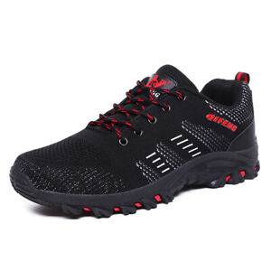 AU-Hot-Men-039-s-Trail-Running-Shoes-Summer-Breathable-Outdoor-Climbing-Hiking-Shoes