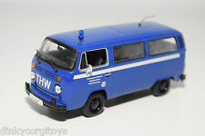 MINICHAMPS VW VOLKSWAGEN TRANSPORTER T2 THW BERLIN KREUZBERG MINT CONDITION