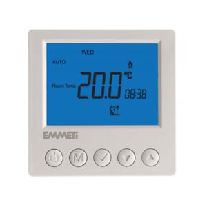 EMMETI CS-11 7 giorno Programmabile LCD Digitale Termostato-U9310047