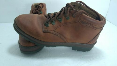 Nine West Leather Tan Lace Up Ankle Boots 7M