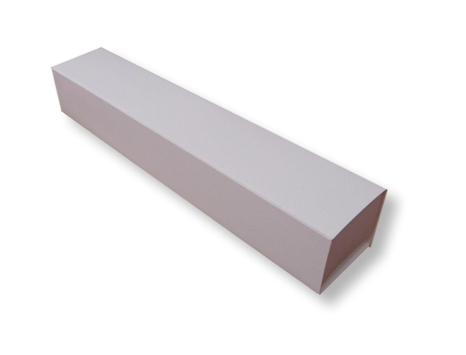 1 blanco grande caja de desplazamiento muestra Bodas, Graduación, Velas, Regalos Etc.