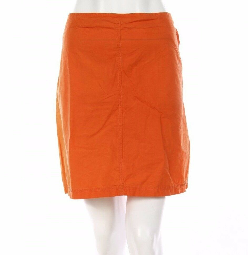 Lacoste Mini Skirt Peach orange Designer Size 42 L Womens