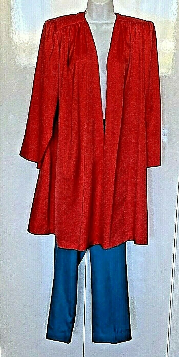 VINTAGE Lucie Ann Beverly Hills 3pc Silky Pants O… - image 2