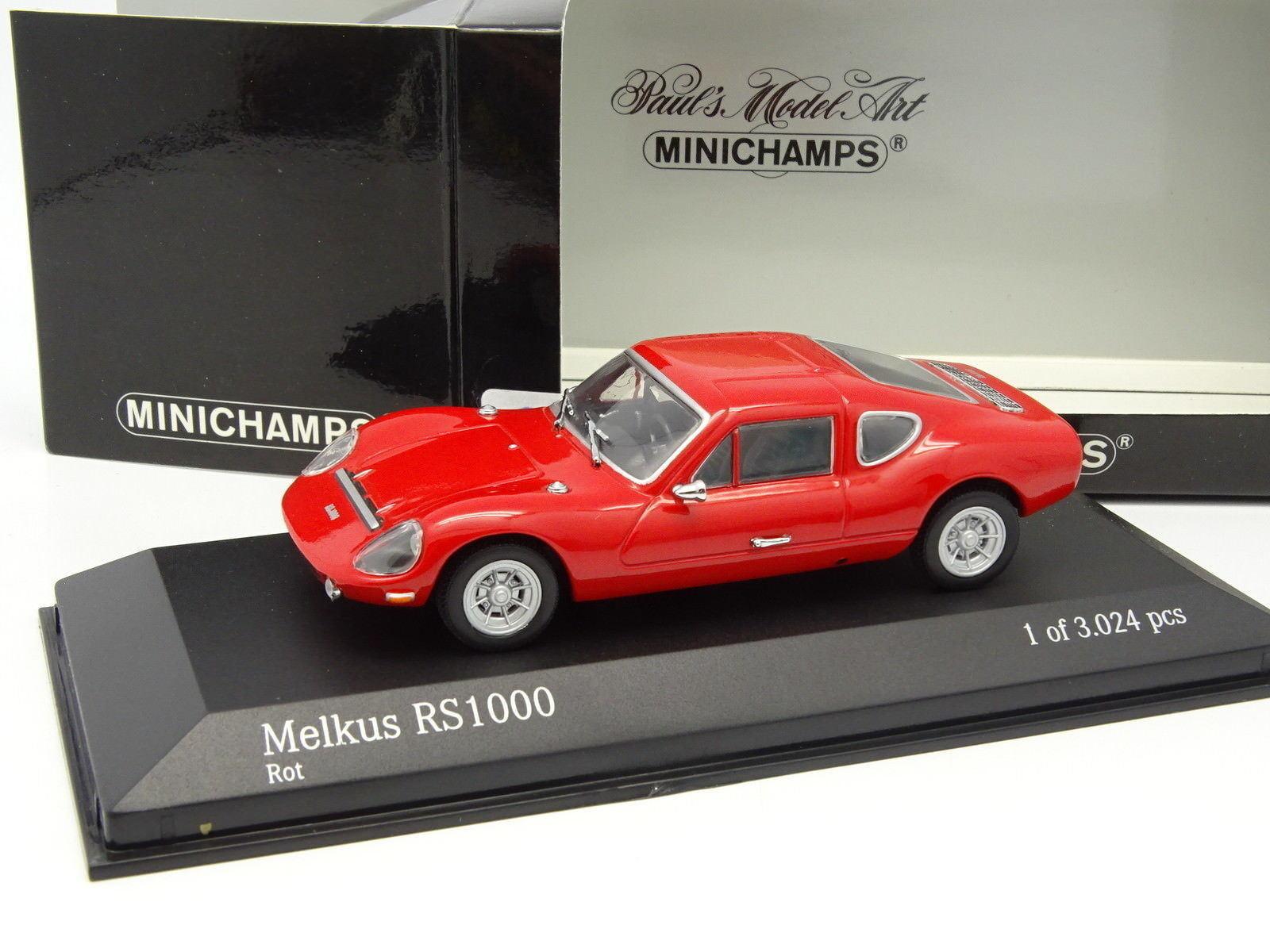 Minichamps 1 43 - Melkus rs 1000 1972 red