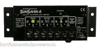 Morningstar Ss 6 12v   Sunsaver 6 Amp 12 Volt Solar Charge Controller