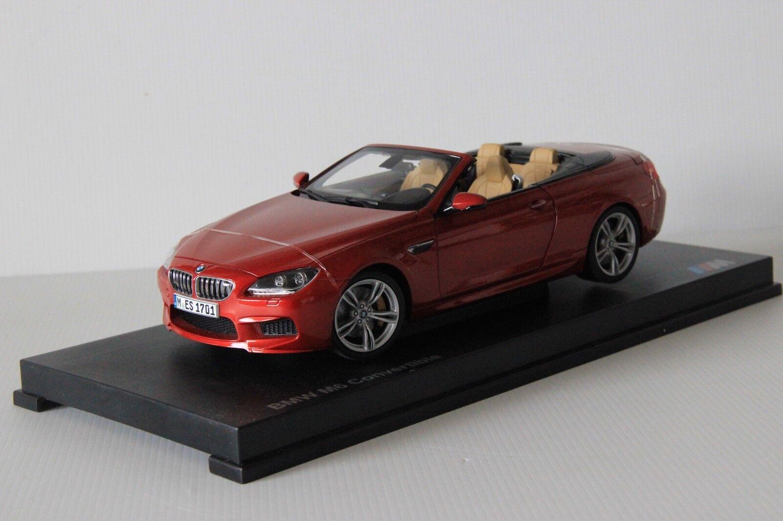 BMW M6 F13 CABRIO rot PARAGON 2012 1 18