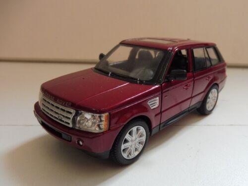 SUPER PROMO Range Rover Sport Rouge KINSMART 1//38 Diecast NEUF