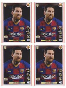 4 X Lionel Messi Sticker Panini Fifa 365 2020 2021 #5 Invest