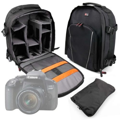 Rucksack For The Canon EOS 800D//Rebel T7i Camera Deluxe Camera Backpack