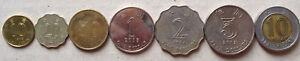Hong-Kong-coins-7-pcs