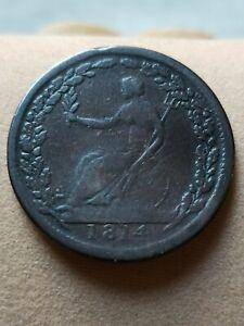 Canada Half Penny Token 1814